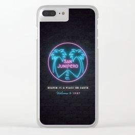 San Junipero Clear iPhone Case