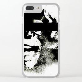 DHARMA SCUM Clear iPhone Case