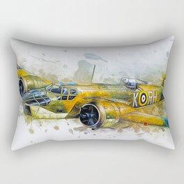 Blenheim Bomber Rectangular Pillow