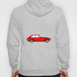 Sports Car Coupe Hoody