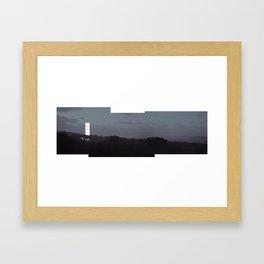 kiosk Framed Art Print