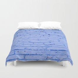 Blue Bricks Duvet Cover