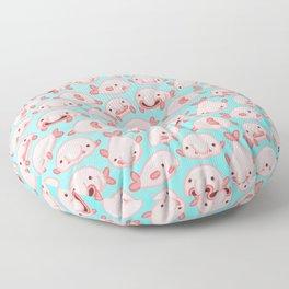 Blobfish Pattern Floor Pillow