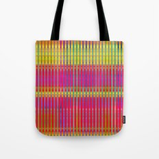 Popsicle Stripes Tote Bag