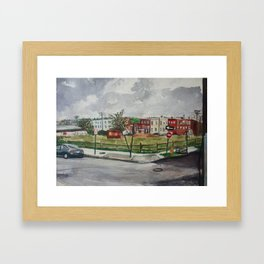 27th & Sisson Framed Art Print