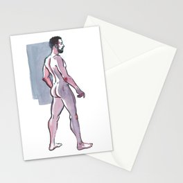 JOHN JAMES, Nude Male by Frank-Joseph Stationery Cards