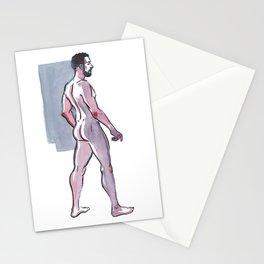 JOHN JAMES, Nude Male by Frank-Joseph Stationery Cards