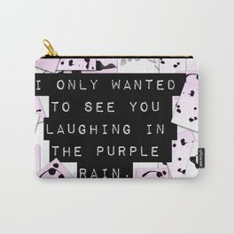 laughing in rain. Carry-All Pouch