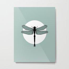 Dragonfly / 蜻蜓 (Qīngtíng) Metal Print