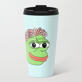 flower pepe Travel Mug