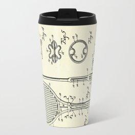 Tennis Racket-1948 Travel Mug