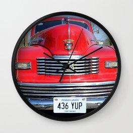 1947 Nash Sudan  Wall Clock