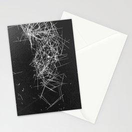 Brush Dust Heart Symbol Stationery Cards