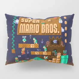 Mario Super Bros Pillow Sham