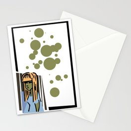 Patient Zero Stationery Cards