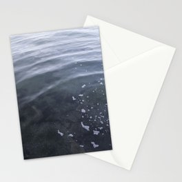 Circle in the water Kits Beach Vancouver Stationery Cards
