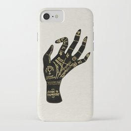 Palmistry iPhone Case