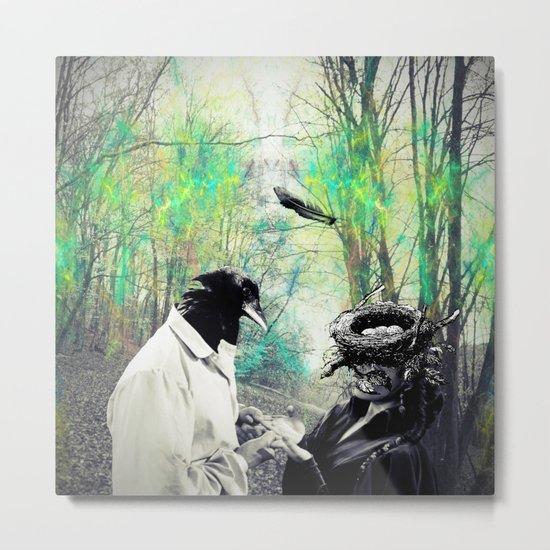Birdman Metal Print