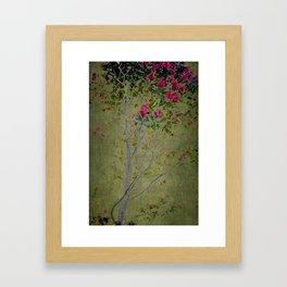 Floral Interlace Framed Art Print