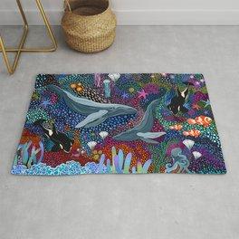 Whale Ocean Life Rug