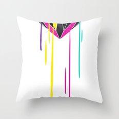 Melting Diamond Throw Pillow