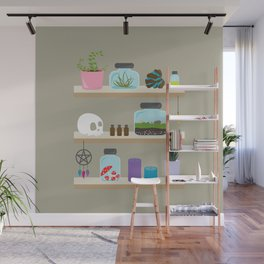Witchy Shelves, The Other Wall Wall Mural