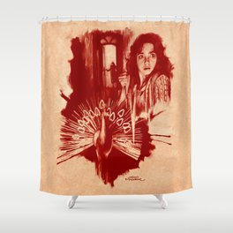 Homage to Suspiria Shower Curtain