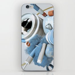 3D Objective iPhone Skin