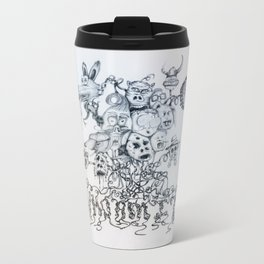 Who am I? Metal Travel Mug