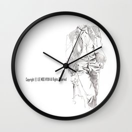 SUIT Wall Clock