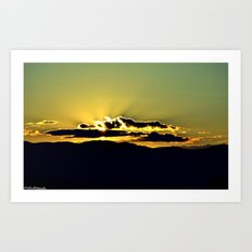The Sky Is The Limit. Art Print