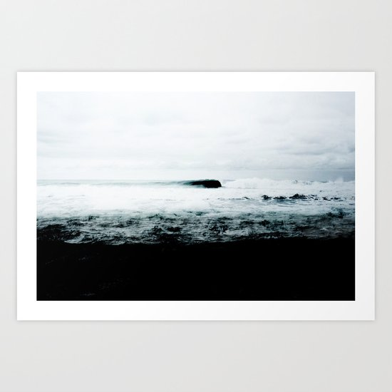Dark Water Art Print