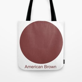 American Brown Tote Bag