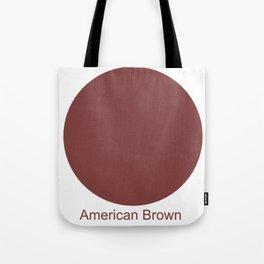 American Brown Tote Bag