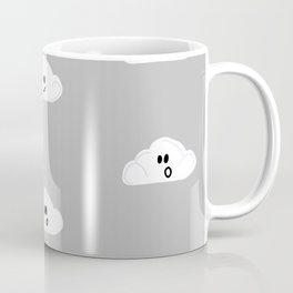Clouds with faces Coffee Mug