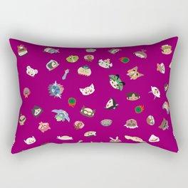 A Mix of Okami Rectangular Pillow