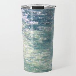 Sea Painting Maravellous Effect with brushes Travel Mug