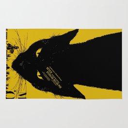Vintage poster - Black Cat Rug