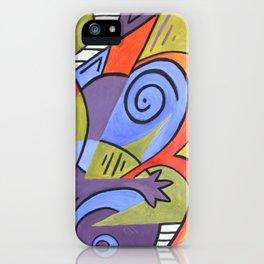 Lazy Lizard iPhone Case