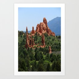 Cathedral Valley Art Print