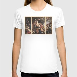 Original The Raising of the Cross by Peter Paul Rubens T-shirt