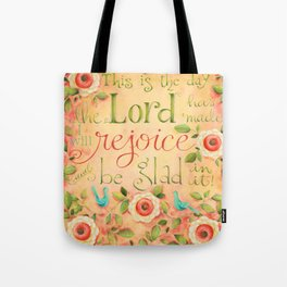 Rejoice and Be Glad Tote Bag