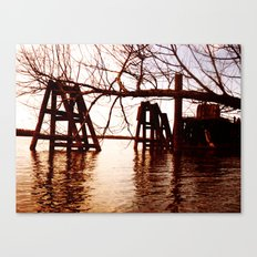 Rusted River Canvas Print
