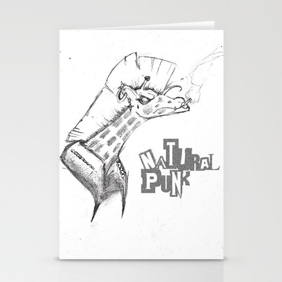 Natural Punk  Stationery Cards
