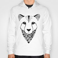 cheetah Hoodies featuring Cheetah by Art & Be