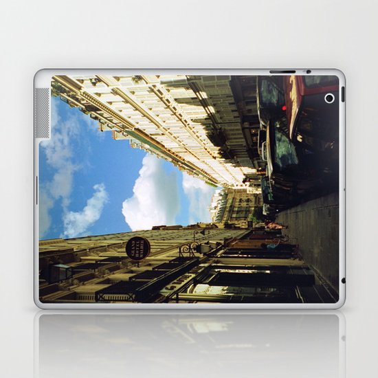 Paris in 35mm Film: Rue Malher in Le Marais Laptop & iPad Skin