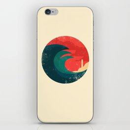 The wild ocean iPhone Skin