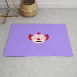 Red-haired clown T-Shirt for all Ages D4u9y Rug