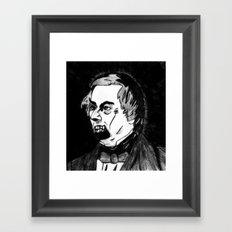 13. Zombie Millard Fillmore  Framed Art Print