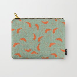 Salmon Waves Carry-All Pouch